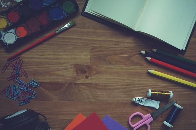 potřeby na malování