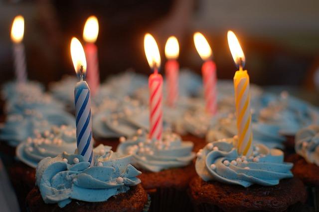 narozeninové dortíčky