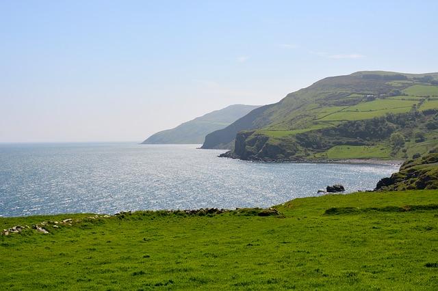 príroda írsko