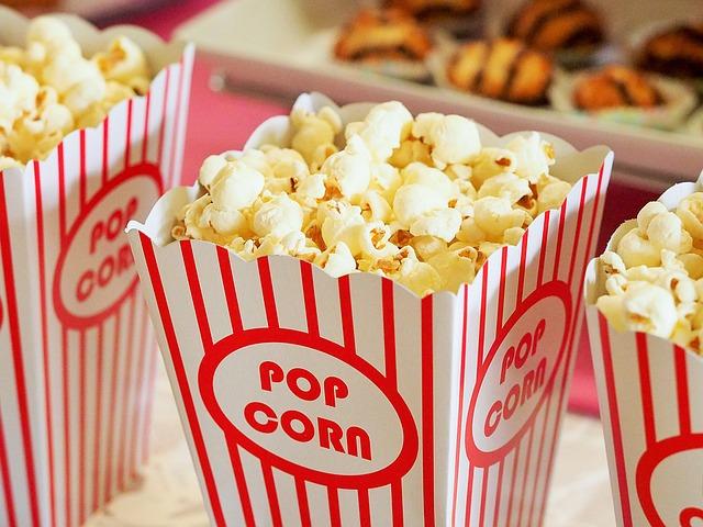 popcorn v krabičce
