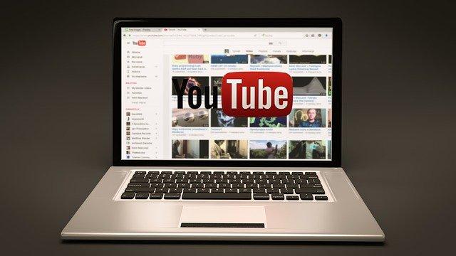 youtube a laptop