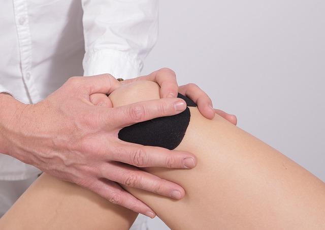 masáž kolene