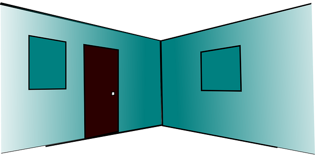 prázdný interiér